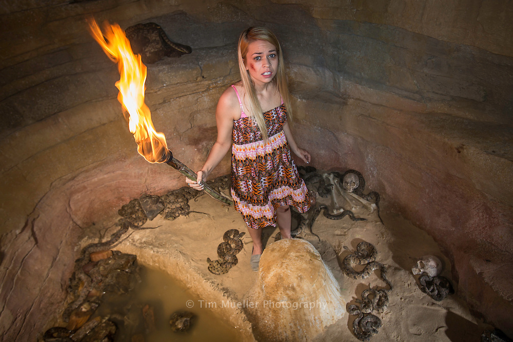 The 13th Gate Haunted House provides a journey through 13 themed indoor & outdoor areas including a walk over a live snake pit. Located in Baton Rouge, La., 13th Gate is consistently recognized as one of the top haunted attractions in the country.