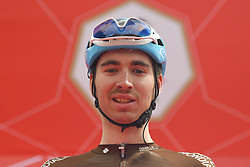 March 2, 2019 - Dubai, United Arab Emirates - Aurelien Paret-Peintre of France and Team Ag2r-La Mondiale, seen at the start line of the seventh and final stage - Dubai Stage of the UAE Tour 2019, a 145km with a start from Dubai Safari Park and finish in City Walk area. .On Saturday, March 2, 2019, in Dubai Safari Park, Dubai Emirate, United Arab Emirates. (Credit Image: © Artur Widak/NurPhoto via ZUMA Press)