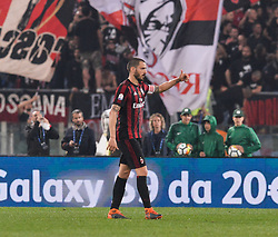 May 9, 2018 - Rome, Italy - Leonardo Bonucci during the Tim Cup Final football match F.C. Juventus vs A.C. Milan at the Olympic Stadium in Rome, on May 09, 2018  (Credit Image: © Silvia Lore/NurPhoto via ZUMA Press)