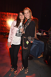 """Bella Freud and Eva Herzigova at """"Hoping For Palestine"""" Benefit Concert For Palestinian Refugee Children held at The Roundhouse, Chalk Farm Road, England. 04 June 2018. <br /> Photo by Dominic O'Neill/SilverHub 0203 174 1069/ 07711972644 - Editors@silverhubmedia.com"""