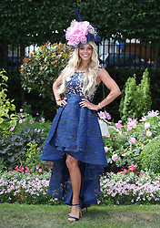 Lorna Foxall during day five of Royal Ascot at Ascot Racecourse.