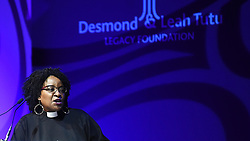 Cape Town-181007-Nontombi Naomi Tutu opened  the Desmond Tutu Annual Peace Lecture  with prayer at the Artscape in Cape Town. .Photographer:Phando Jikelo/African News Agency(ANA)