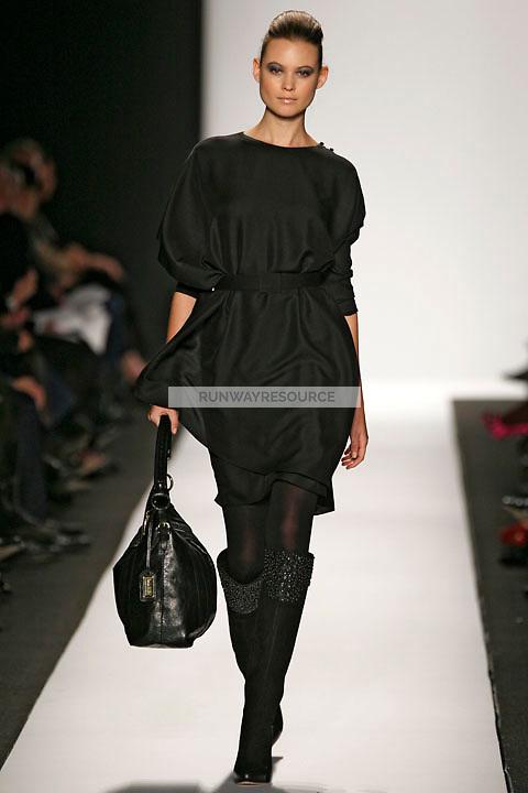 Behati Prinsloo wearing the Badgley Mischka Fall 2009 Collection
