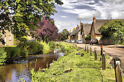 Northamptonshire village of Grafton Underwood, northeast of Kettering.<br /> Close by is Boughton House, seat of the Duke of Buccleuch. THe village is also the family home of Helen Fieldings fictional creation Bridgett Jones