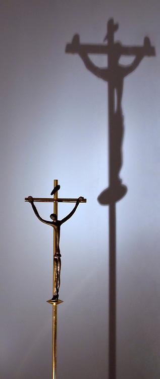 Crucifix in the Vatican Museum.