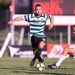 BRISBANE, AUSTRALIA - JANUARY 14:  during the Kappa Silver Boot Group B match between Souths United and Gold Coast Knights on January 14, 2018 in Brisbane, Australia. (Photo by Patrick Kearney)