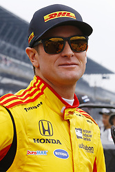 May 19, 2018 - Indianapolis, Indiana, United States of America - RYAN HUNTER-REAY (28) of the United States prepares to qualify during ''Bump Day'' for the Indianapolis 500 at the Indianapolis Motor Speedway in Indianapolis, Indiana. (Credit Image: © Chris Owens Asp Inc/ASP via ZUMA Wire)