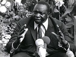Dec. 12, 1968 - President of Uganda, Idi Amin news conference. (Credit Image: © Keystone Pictures USA/ZUMAPRESS.com)