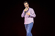 Marcus Brigstocke. The Peoples Assembly  presents: Stand Up Against Austerity. Live at the Hammersmith Apollo. London.