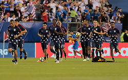 July 19, 2017 - Philadelphia, PA, USA - Philadelphia, PA - Wednesday July 19, 2017: USMNT  during a 2017 Gold Cup match between the men's national teams of the United States (USA) and El Salvador (SLV) at Lincoln Financial Field. (Credit Image: © John Dorton/ISIPhotos via ZUMA Wire)