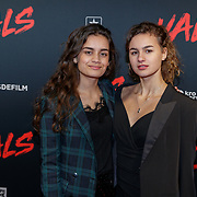 NLD/Utrecht/20190114 - Premiere Vals, Sonia Eijken (L) en May Hollerman