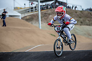 #53 (PRIES Nadja) GER at Round 3 of the 2020 UCI BMX Supercross World Cup in Bathurst, Australia.