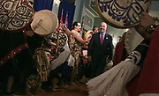 John Horgan enters the Government House ballroom. Horgan was sworn in as B.C.'s new premier and the new cabinet positions were announced at Government House in Victoria. (Arnold Lim/Black Press)