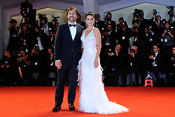 Penelope Cruz and Javier Bardem attending the Loving Pablo Premiere during the 74th Venice International Film Festival (Mostra di Venezia) at the Lido, Venice, Italy on September 06, 2017. Photo by Aurore Marechal/ABACAPRESS.COM