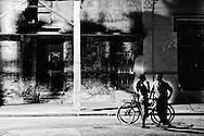 Night scene in Bayamo, Granma, Cuba.