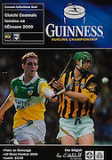 All Ireland Senior Hurling Championship - Final, .10.09.2000, 09.10.2000, 10th September 2000, .10092000AISHCF,.Senior Kilkenny v Offaly,.Minor Cork v Galway,.Kilkenny 5-15, Offaly 1-14,