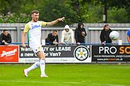 Leeds United Ryan Edmondson (14) warming up during the Pre-Season Friendly match between Tadcaster Albion and Leeds United at i2i Stadium, Tadcaster, United Kingdom on 17 July 2019.