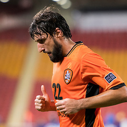 BRISBANE, AUSTRALIA - APRIL 12: Thomas Broich of the Roar in action during the Asian Champions League Group Stage match between the Brisbane Roar and Kashima Antlers at Suncorp Stadium on April 12, 2017 in Brisbane, Australia. (Photo by Patrick Kearney/Brisbane Roar)