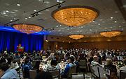 Houston ISD Superintendent Richard Carranza addresses the Scholars Banquet at the Westin Galleria, April 11, 2017.