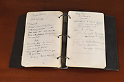 """John F. Kennedy's Opinions on his Icon - Sir Winston Churchill, British Election Results and more in his 'Only' Diary set to go under the hammer<br /> Details revealed in his 'Only' Diary to be auctioned<br />  <br /> As a young boy John F. Kennedy read Winston Churchill's books; he was seen in his hospital bed reading 'The Crisis' and Churchill's biography of 'Marlborough.' JFK's college thesis at Harvard and later Pulitzer prize-winning book, 'Why England Slept' was based on the wide range of history books he had read and his research on a man he saw as a world leader.<br />  <br /> In JFK's 'Only' Diary that will be auctioned later this month by Boston-based RR Auction, Kennedy writes, """"Churchill in his book 'World Crisis' brings out the same point—the terrific slaughter of the field officers of the British Army—two or three times higher than the Germans. They were always on the defensive in the dark days of '15, '16, and '17, and they paid most heavily. The British lost one million of a population of forty million; the French, one million five hundred thousand of a population of thirty-eight million; and the Germans, one million five hundred thousand of a population of seventy million. This tremendous slaughter had its effect on British policy in the 30's when Chamberlain and Baldwin could not bring themselves to subject the young men of Britain to the same horrible slaughter again.""""<br />  <br /> One of President Kennedy's best days was on April 9, 1963 when he """"signed the Congressional Bill granting honorary United States citizenship to Winston Churchill in recognition of his great contribution to saving both the Allied Powers and civilization at large.""""* On the steps of the Rose Garden with Sir Winston's son, Randolph, and his grandson, the President paid tribute to the aging Prime Minister, who was unable to make the journey. He watched with Clementine from his apartment in London.<br />  <br /> The President paid tribute to his idol in the following wor"""