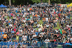 Motorcycle Hillclimbs returned to the Gunstock Recreation Area in Gilford after a lapse of several years during Laconia Motorcycle Week, New Hampshire, USA. Wednesday June 14, 2017. Photography ©2017 Michael Lichter.