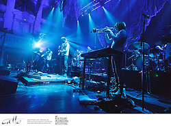 Indie band Bon Iver perform the first of two shows in Wellington Town Hall, at the New Zealand International Arts Festival.