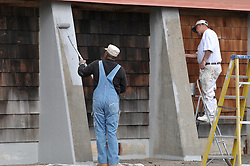 CT-DOT Project No. 06-119 Beacon Falls Salt Shed. Photographs on 30 September 2009.