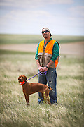 SHOT 5/9/20 1:11:47 PM - Various pointing breeds compete in the Vizsla Club of Colorado Licensed Hunt Test Premium at the Rocky Mountain Sporting Dog Club Grounds in Keenesburg, Co. (Photo by Marc Piscotty / © 2020)