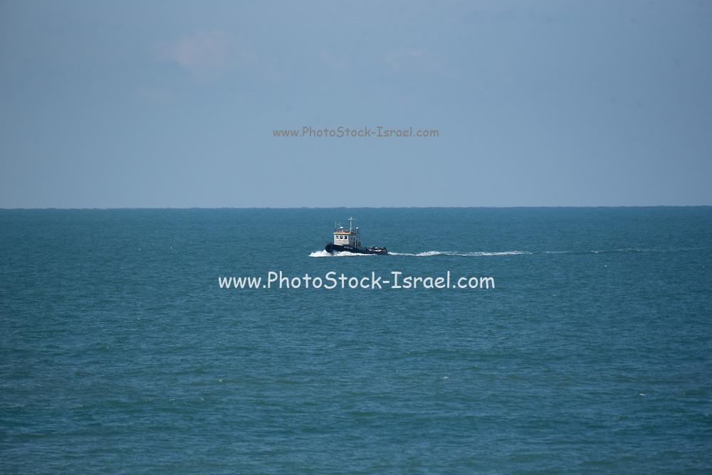 Tugboat steaming ahead