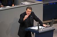 DEU, Deutschland, Germany, Berlin, 12.12.2017: Stephan Brandner (AfD, Alternative für Deutschland) bei einer Rede im Deutschen Bundestag.
