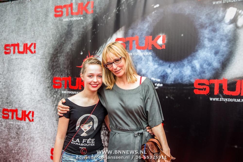 NLD/Almere/20140609 - Premiere Stuk de film, Sanneke Bos