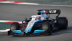 Williams Robert Kubica during day four of pre-season testing at the Circuit de Barcelona-Catalunya.
