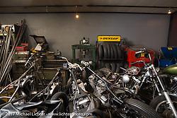 Visit to Masato (Morry) Ikumori's Stoop Motorcycles in Kawaguci City, Saitama Prefecture, Japan. Tuesday December 5, 2017. Photography ©2017 Michael Lichter.