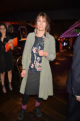 Alice Oswald winner of the Costa Poetry Award at the Costa Book of The Year Awards held at Quaglino's, 16 Bury Street, London England. 31 January 2017.