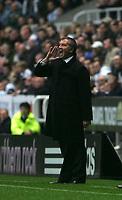 Photo: Andrew Unwin.<br />Newcastle Utd v Birmingham City. The Barclays Premiership. 05/11/2005.<br />Newcastle's manager, Graeme Souness.