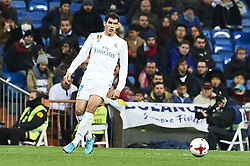January 10, 2018 - Madrid, Madrid, Spain - Jesus Vallejo (defender; Real Madrid) during Copa del Rey match between Real Madrid and Numancia, Round 8 match, at Santiago Bernabeu on January 10, 2018 in Madrid (Credit Image: © Jack Abuin via ZUMA Wire)