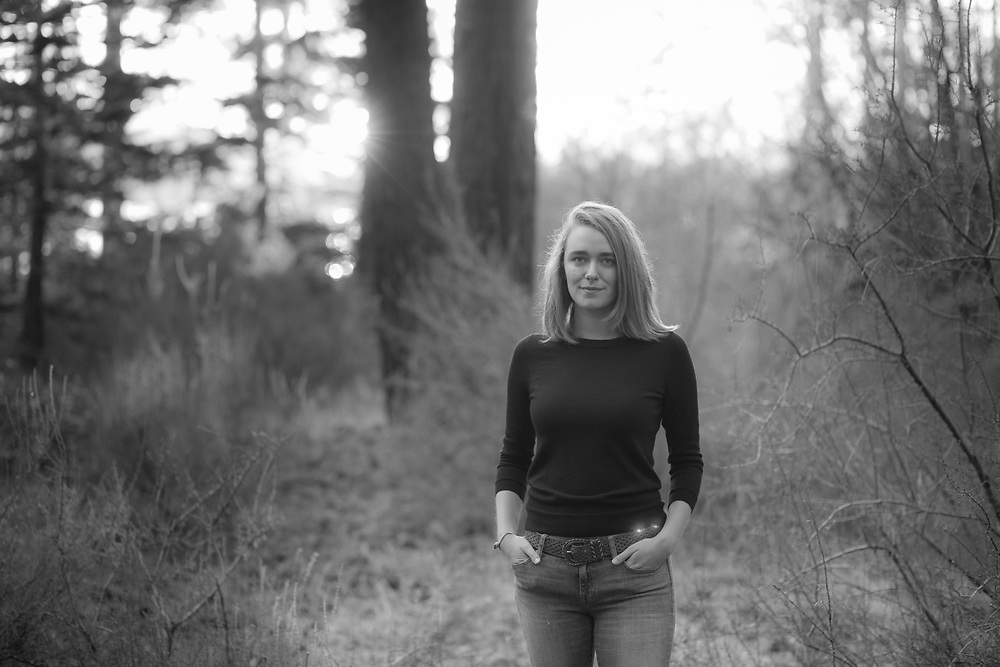 Black and White Lake Tahoe Portrait Photography