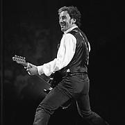 Bruce Springsteen performs at The Spectrum in Philadelphia, Pennsylvania on September 24, 1999. ©Lisa Lake