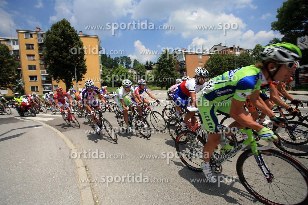 Riders in Grosuplje during 1st stage of the 15th Tour de Slovenie from Ljubljana to Postojna (161 km) , on June 11,2008, Slovenia. (Photo by Vid Ponikvar / Sportal Images)/ Sportida)