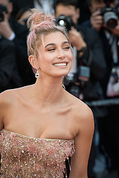 Hailey Baldwin attending the premiere of the film Les Filles du Soleil during the 71st Cannes Film Festival in Cannes, France on May 12, 2018. Photo by Julien Zannoni/APS-Medias/ABACAPRESS.COM