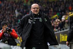 13.02.2016, Signal Iduna Park, Dortmund, GER, 1. FBL, Borussia Dortmund vs Hannover 96, 21. Runde, im Bild Thomas Schaaf (Hannover 96) // during the German Bundesliga 21th round match between Borussia Dortmund and Hannover 96 at the Signal Iduna Park in Dortmund, Germany on 2016/02/13. EXPA Pictures © 2016, PhotoCredit: EXPA/ Eibner-Pressefoto/ Schüler<br /> <br /> *****ATTENTION - OUT of GER*****