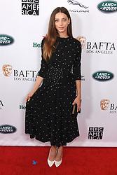 September 15, 2018 - Beverly Hills, California, USA - ANGELA SARAFYN attends the 2018 BAFTA Los Angeles + BBC America TV Tea Party at the Beverly Hilton in Beverly Hills. (Credit Image: © Billy Bennight/ZUMA Wire)