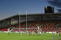 Rugby Union - 2020 / 2021 European Rugby Challenge Cup - London Irish vs Pau - Brentford Community Stadium<br /> <br /> A general view of the Brentford Community Stadium, home of London Irish.<br /> <br /> COLORSPORT/ASHLEY WESTERN