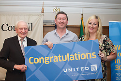 The Ireland-U.S. Council.Golf Day in Ireland...Friday, August 31, 2012 at Dun Laoghaire Golf Club, Enniskerry, County Wicklow, Ireland, Sponsored by United...Tickets-for-Two to the U.S.A. on United Airlines.Spend some quality time in the ?Land of the Free and the Home of the Brave?.  Hop over to the United Airlines from Belfast, Dublin or Shannon to Newark Liberty International Airport.  Get them bags ready!!..Compliments Yvonne Muldoon, United Airlines. ...Roddy Feely, Robert Perkins and Aoife Gregg - United... lensmen photography and Video production are Golf Event Photography for Corporate Golf Events and Charity Golf Days all over Ireland.<br /> Call us at 00 353 087 258 4388<br /> https://www.lensmen.ie/<br /> https://www.lensmen.ie/golf-photography/<br /> https://www.lensmen.ie/editorial-photography/<br /> https://www.lensmen.ie/event-photography-services-dublin-ireland/<br /> https://www.lensmen.ie/lensmen-photographic-service-for-irish-state-visits-and-visiting-delegations/<br /> https://www.lensmen.ie/event-photography/promotions-event-photography/<br /> https://www.lensmen.ie/charity-fundraising-event-photography-agency/charity-black-tie-event-photography/<br /> <br /> https://www.lensmen.ie/corporate-event-photographer/<br /> <br /> <br /> 360 Product Photography <br /> Please visit my website<br /> https://www.lensmen.ie/<br /> https://360virtualworld.ie/prices/<br /> https://360virtualworld.ie/about/<br /> https://360virtualworld.ie/product-photography/<br /> https://360virtualworld.ie/portfolio/<br /> https://360virtualworld.ie/virtual-tours/<br /> https://360virtualworld.ie/prices/<br /> https://360virtualworld.ie/info-contact/