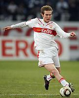 Fotball<br /> Tyskland<br /> 12.03.2010<br /> Foto: Witters/Digitalsport<br /> NORWAY ONLY<br /> <br /> Aliaksandr Hleb Stuttgart<br /> Bundesliga FC Schalke 04 - VfB Stuttgart 2:1