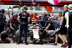 May 24, 2018 - Monte Carlo, Monaco - Motorsports: FIA Formula One World Championship 2018, Grand Prix of Monaco, ..#33 Max Verstappen (NLD, Aston Martin Red Bull Racing) (Credit Image: © Hoch Zwei via ZUMA Wire)