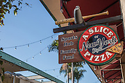 A Slice of New York Style Pizza Sports Hub in Huntington Harbour Mall Huntington Beach California