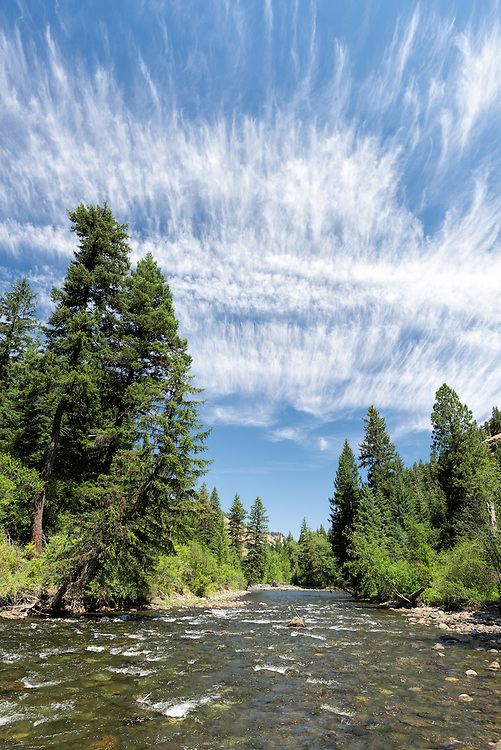Minam River in Oregon's Wallowa Mountains.