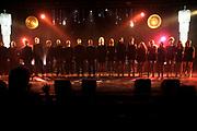 Uitreiking van de Edison POP 2014 awards in de The Harbour Club, Amsterdam<br /> <br /> Op de foto:  Dario Fo