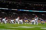 Cincinnati Bengals v LA Rams during the International Series match between Los Angeles Rams and Cincinnati Bengals at Wembley Stadium, London, England on 27 October 2019.